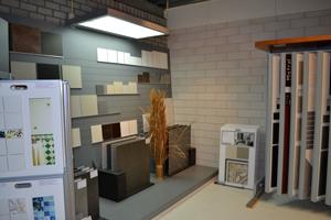 Een foto van onze Showroom